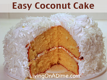 Easy Coconut Cake Recipe