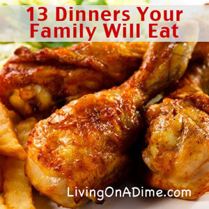 Easy Family Menu Ideas