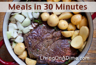 Meals in 30 Minutes or Less