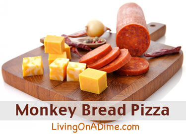 Monkey Bread Pizza Recipe