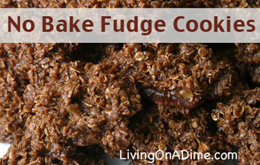 Easy No Bake Fudge Cookies Recipe