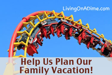 Help Us Plan Our Family Vacation!