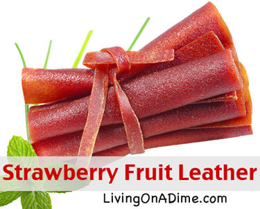 Strawberry Fruit Leather Recipe