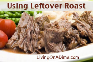 Using Leftover Roast Beef - Slow Cooked Roast