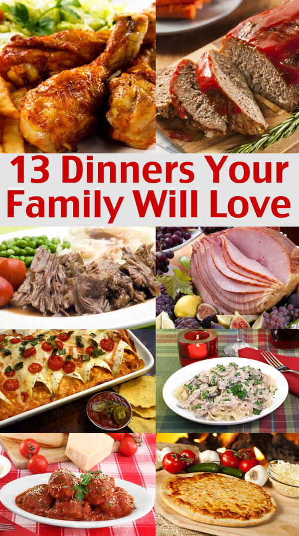 Families easy menu ideas dinner pictures to pin on Easy dinner recipes for family of 6