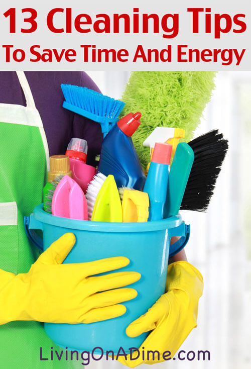 how to get the energy to clean house