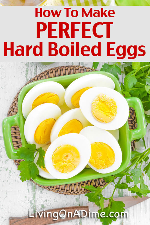 how to make the perfect hard boiled eggs easy recipe