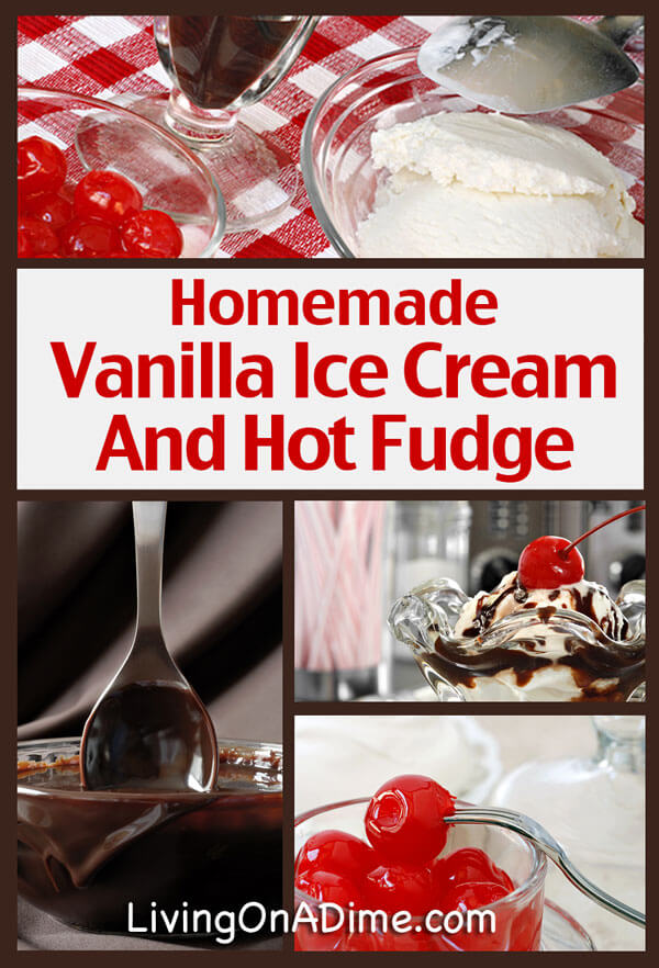 hot fudge over vanilla ice cream recipes dishmaps ice cream sunday ...