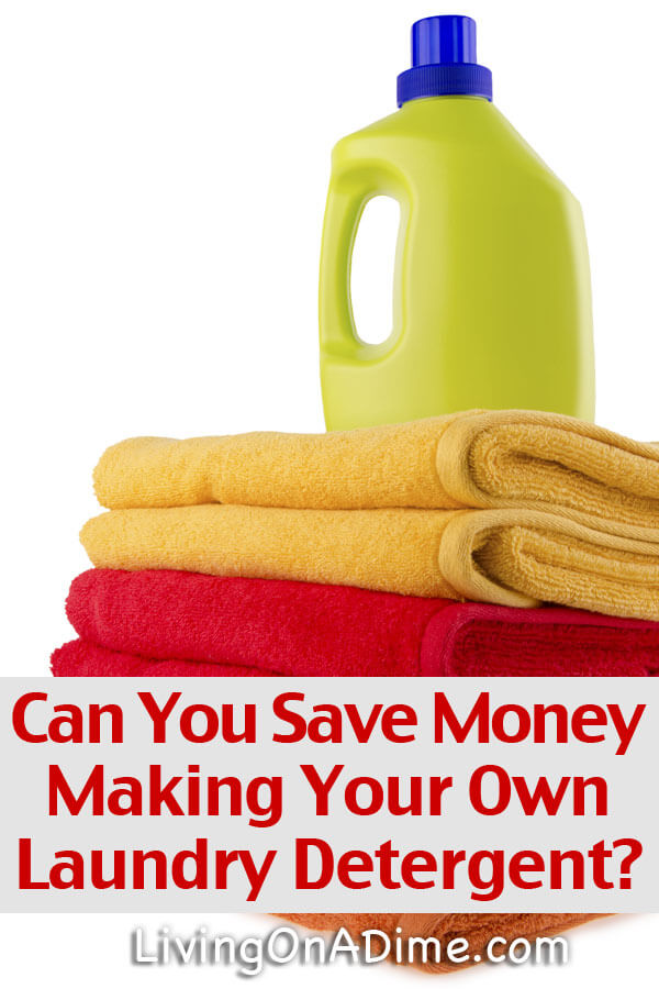 Can You Save Money Making Your Own Laundry Detergent