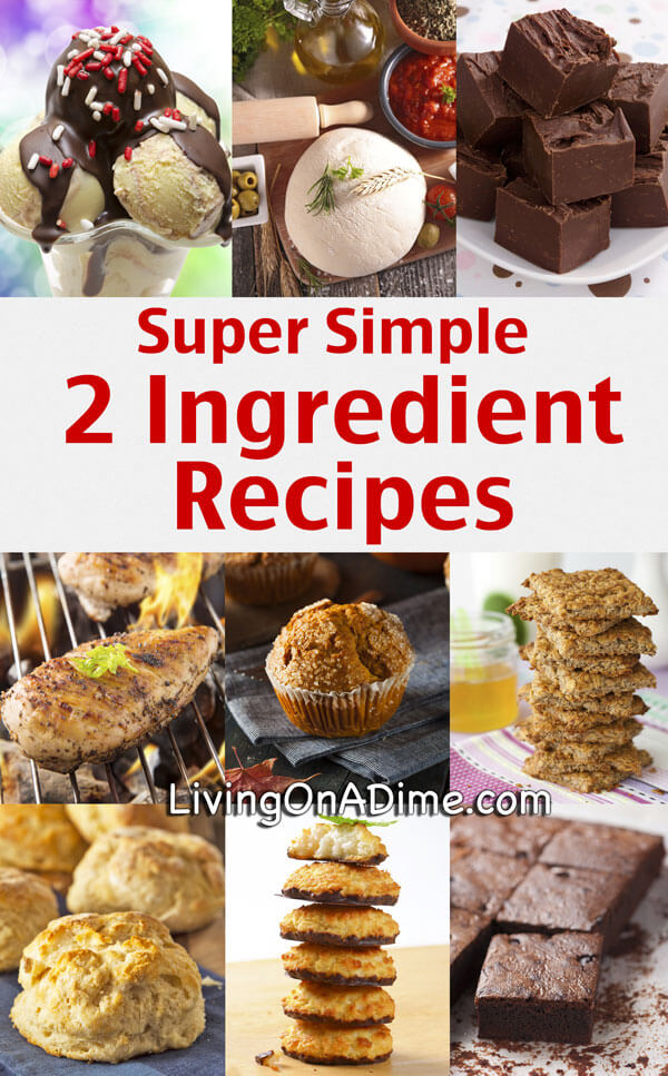 Two Ingredient Dessert Recipe — Dishmaps