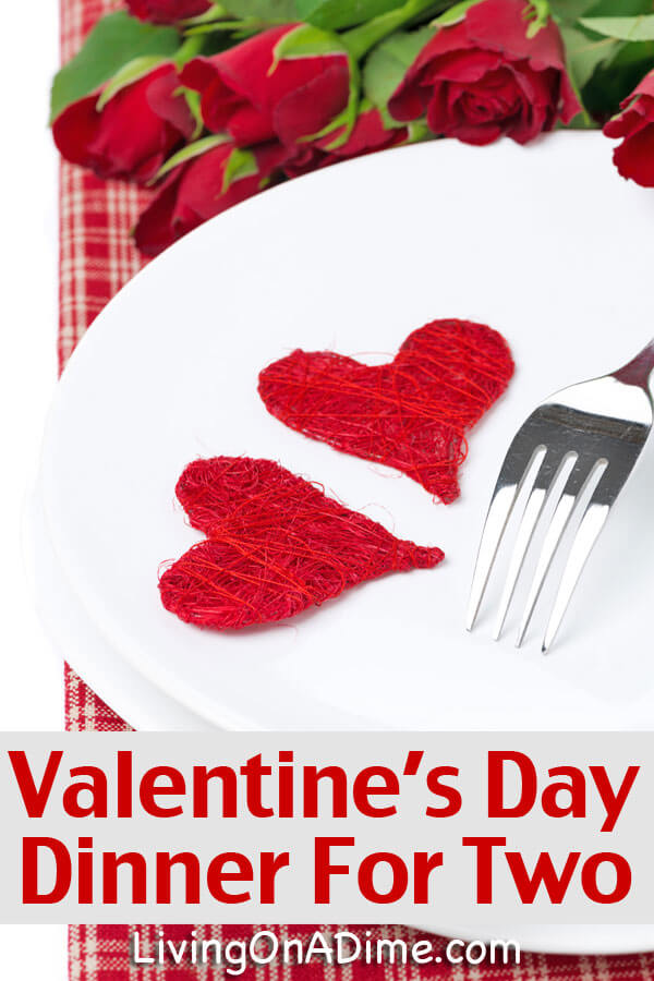 Top 28 valentines day meal valentine s day dinner the for Romantic valentine recipes for two