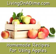 homemade apple recipes