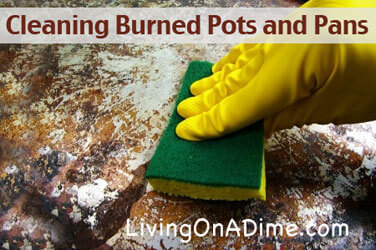 Cleaning Burned Pots and Pans