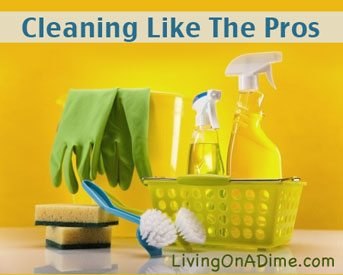home organization and cleaning