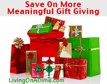 How To Save With More Meaningful Gift Giving