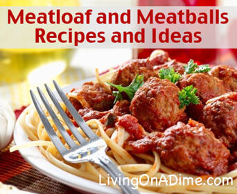 Meatloaf and Meatballs Recipes and Ideas
