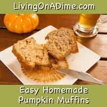 Easy Homemade Pumpkin Muffins Recipe