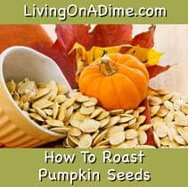 How To Roast Pumpkin Seeds and Pumpkin Recipes