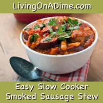 Easy Slow Cooker Smoked Sausage Recipe